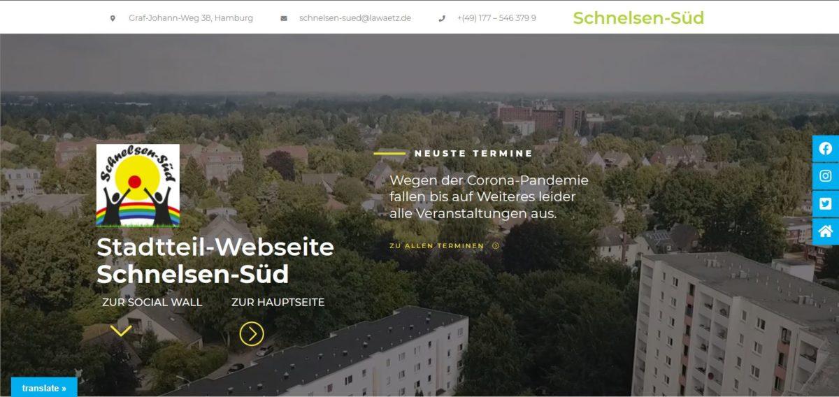 Neue Stadtteil-Website online